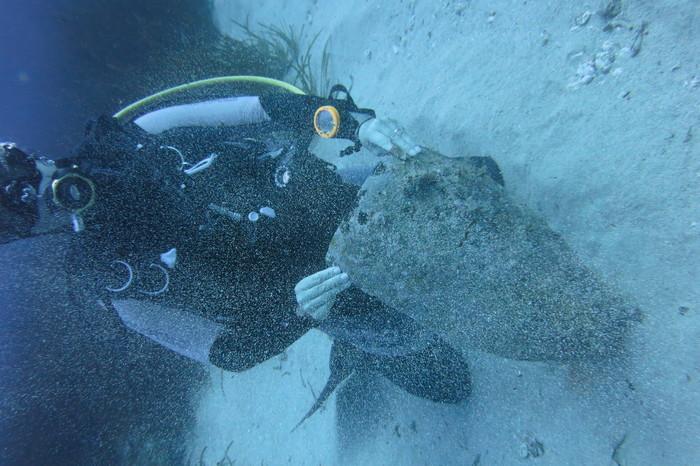 Journées du patrimoine 2019 - Découverte de l'art sous l'eau (archéologie sous marine)