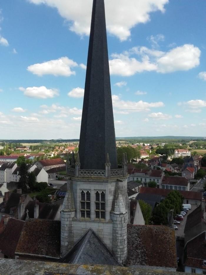 Journées du patrimoine 2019 - Montée à la tour de l'église Notre-Dame d'Auxonne