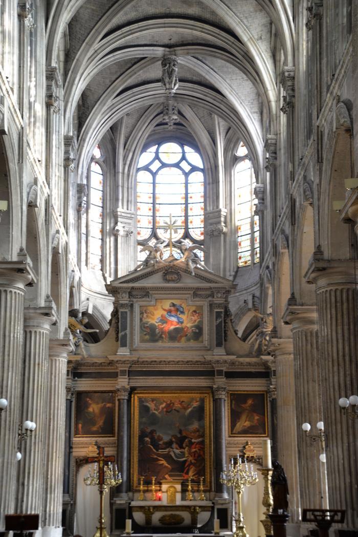 Journées du patrimoine 2019 - Peintures du XVIIe siècle dans les Chapelles rayonnantes et Retable de Simon Vouet (1629)