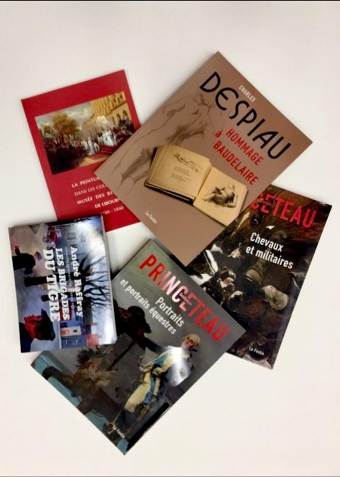 Journées du patrimoine 2020 - Braderie de catalogues sur les collections et les expositions