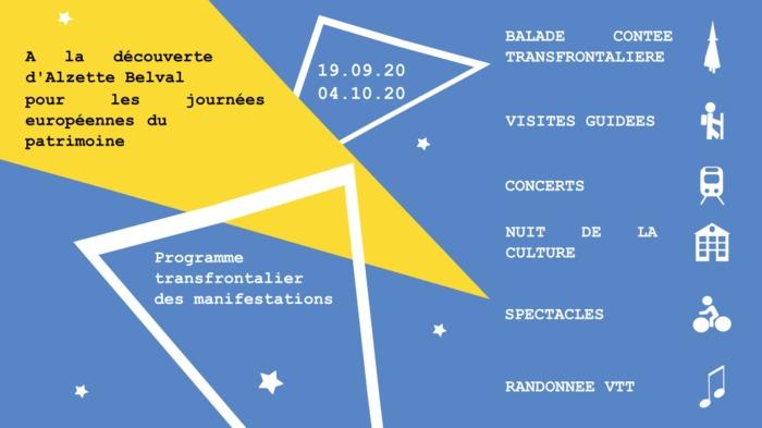 Journées du patrimoine 2020 - À la découverte de l'agglomération transfrontalière d'Alzette Belval