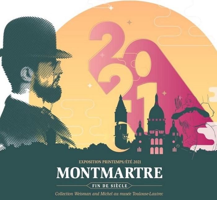 Le musée Toulouse-Lautrec présentera jusqu'au 19 septembre 2021 une exposition riche de près de 200 œuvres rassemblant les artistes qui ont offert à Montmartre sa réputation mondiale.