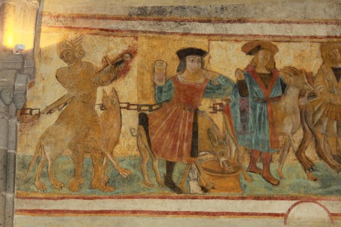 Journées du patrimoine 2019 - Visite guidée : les peintures murales de l'église de la Pommeraie, une «Cavalcade des Vices»