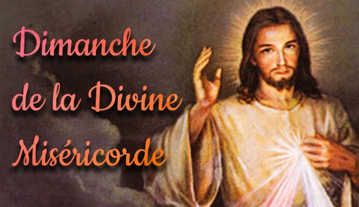 Week-end de la Miséricorde :