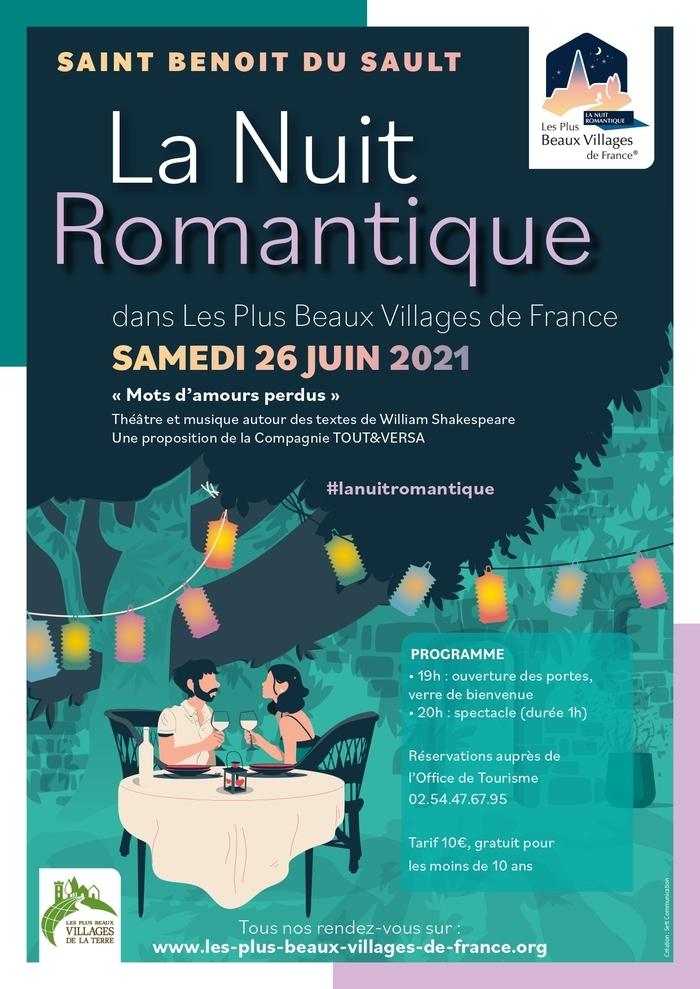 La Nuit romantique à SAINT BENOIT DU SAULT