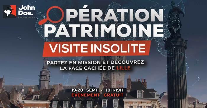 Journées du patrimoine 2020 - Annulé | Visite insolite de Lille