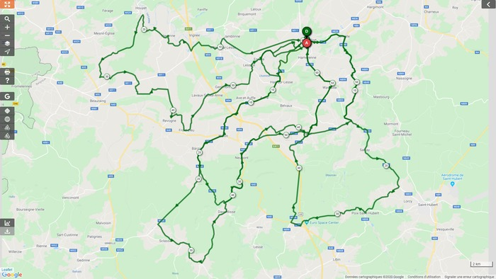 Vélo Club Rochefort - Sortie du mercredi 05 mai et du dimanche 16 mai 2021