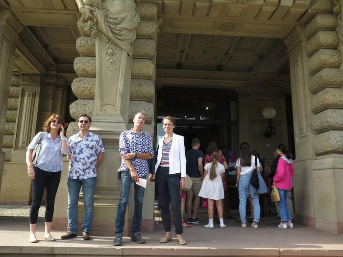 Journées du patrimoine 2019 - Visite guidée du palais du Rhin