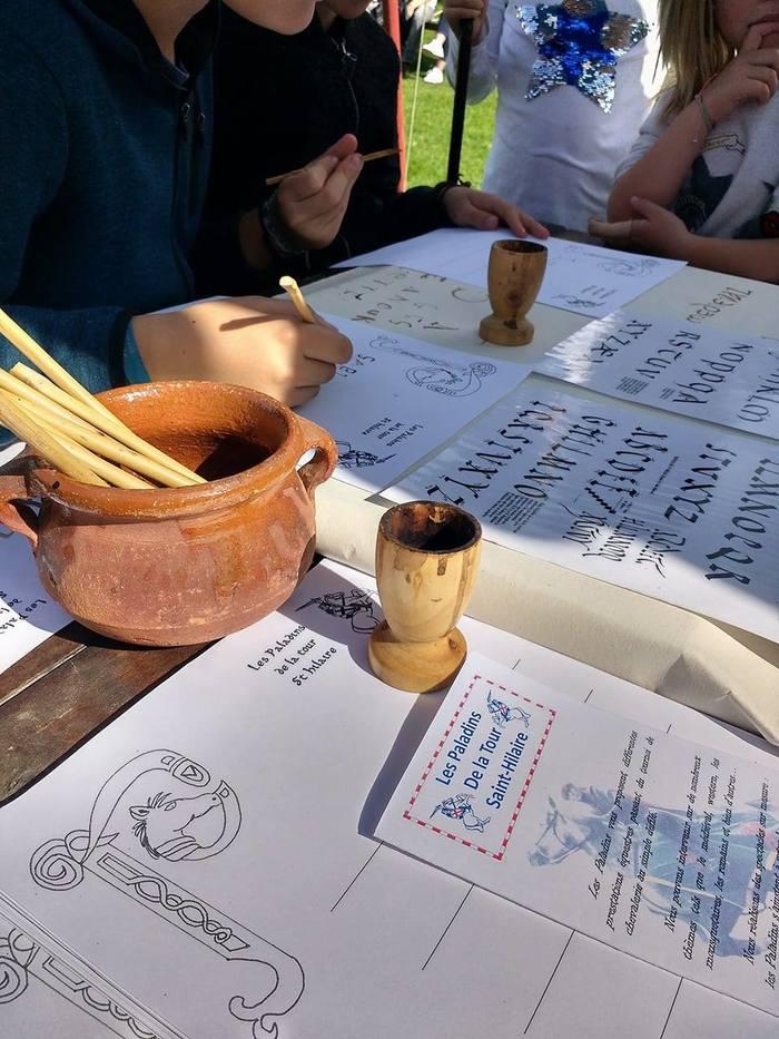 Journées du patrimoine 2020 - Annulé | Jeux médiévaux et atelier calligraphie