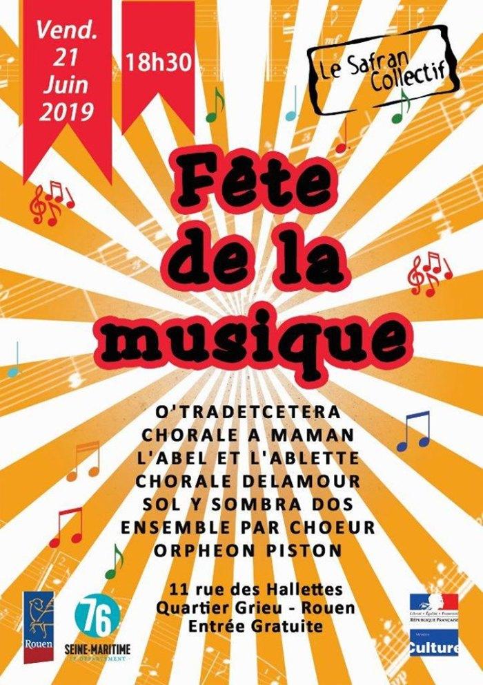 Fête de la musique 2019 - O'Tradetcetera / Chorale à Maman / L'Abel et l'Ablette / Chorale Delamour / Sol Y Sombra Dos / Par Chœur / Orpheon Piston
