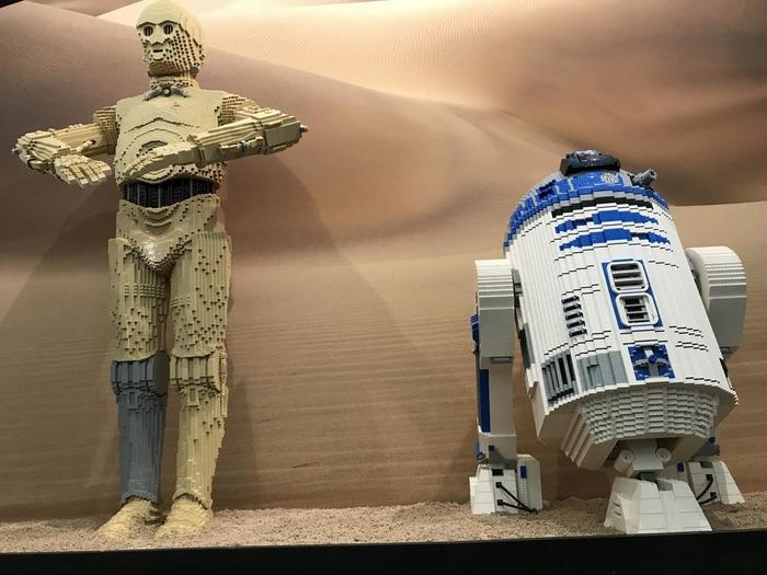 Journées du patrimoine 2019 - Visite libre des expositions permanente et temporaire (LEGO Star wars)