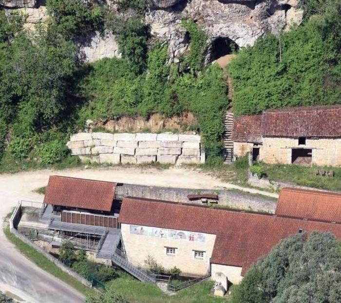 Journées du patrimoine 2019 - Découverte de la dernière scierie de bloc de calcaire à énergie hydraulique