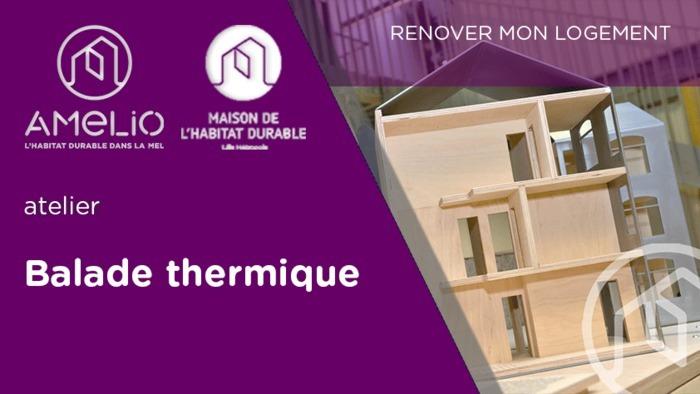 Balade thermique à Quesnoy-sur-Deûle (ATTENTION : horaire modifié | départ 16h !)