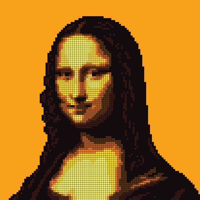 Portrait - Pixel Art