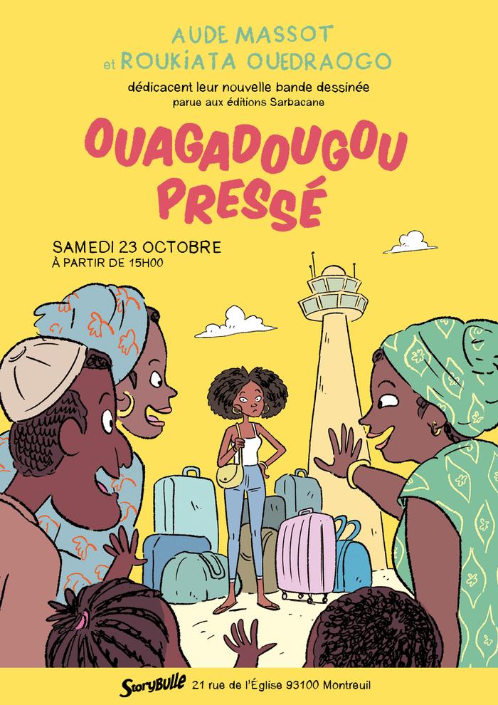 Aude Massot et Roukiata Ouedraogo dédicacent