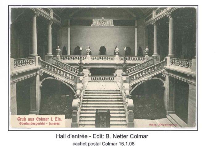 Journées du patrimoine 2019 - Présentation de la Justice et des bâtiments des juridictions du Haut-Rhin et Bas-Rhin