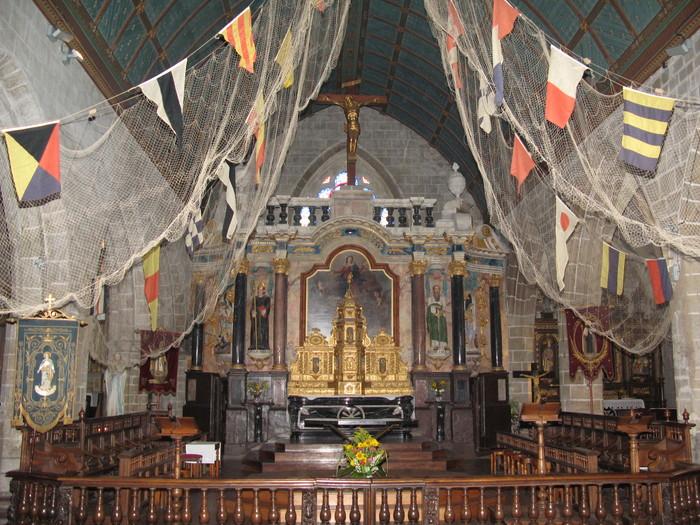 Journées du patrimoine 2020 - Visite guidée de l'église Saint-Guénolé de Batz-sur-mer, classée Monument Historique