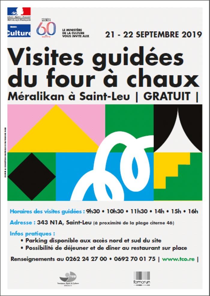 Journées du patrimoine 2019 - Visites guidées du four à chaux Pierre Méralikan - Saint-Leu