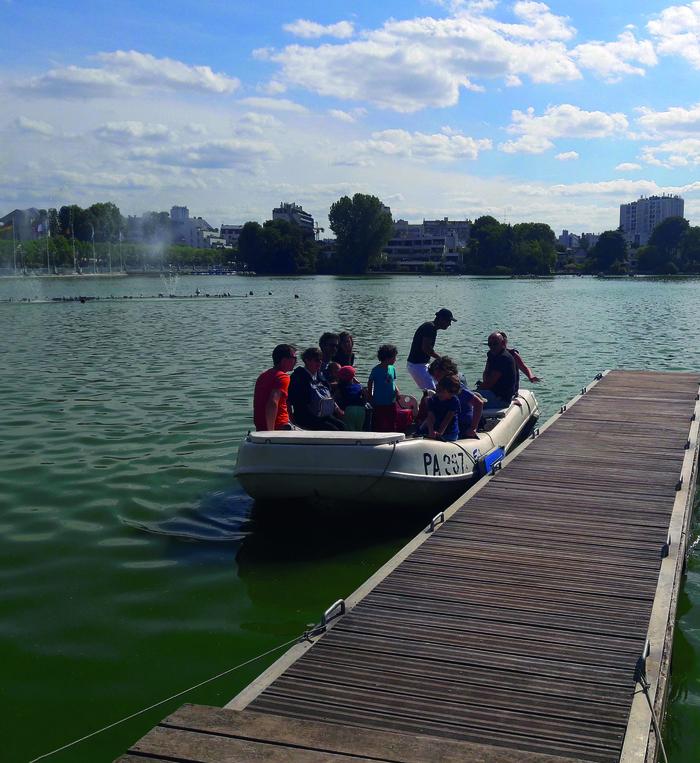 Journées du patrimoine 2020 - Balade sur le lac d'Enghien-les-Bains
