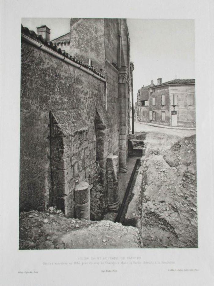 Journées du patrimoine 2020 - Bilan du Projet Collectif de Recherche Saint-Eutrope de Saintes