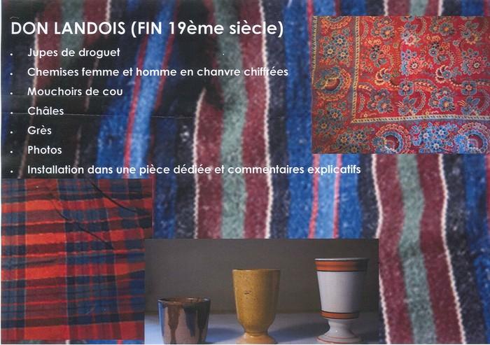 Journées du patrimoine 2020 - Exposition de vêtements anciens du Berry