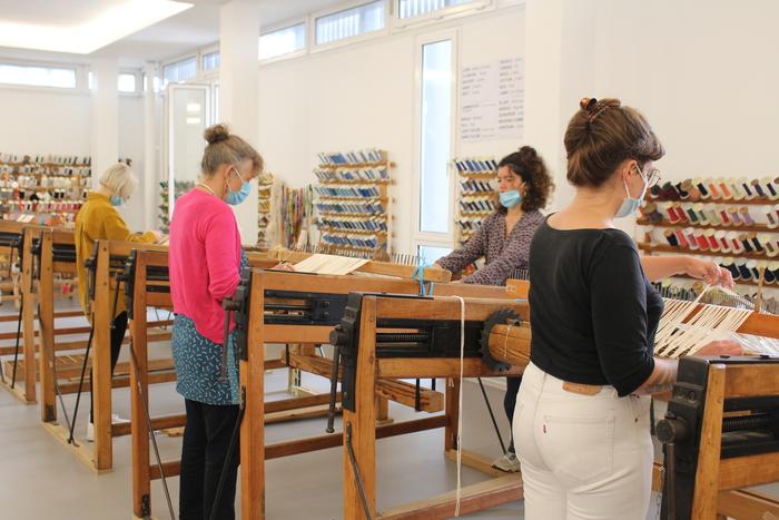 Journées du patrimoine 2020 - Démonstrations de tissage et visites du centre de formation