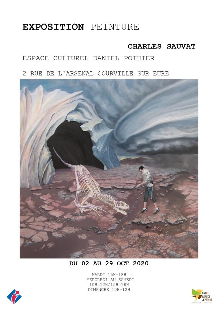 Exposition de peintures et dessins de Charles Sauvat