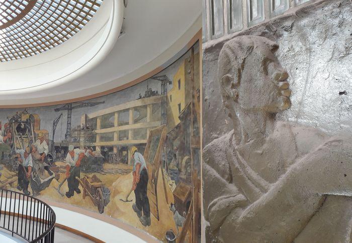 Journées du patrimoine 2019 - Visite exceptionnelle du Lycée Professionnel des métiers du bâtiment Jean Monnet inauguré en 1955