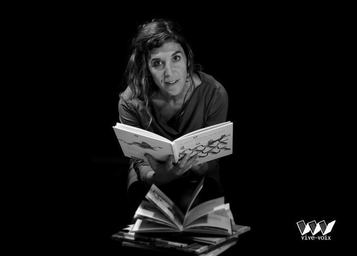 """Lectures en spectacles par Laetitia Cador de """"Vive voix"""""""