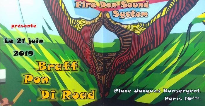 Fête de la musique 2019 - Fire Den Sound System