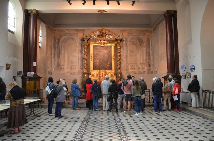 Journées du patrimoine 2020 - Visites commentées de la chapelle des Capucins de Valence