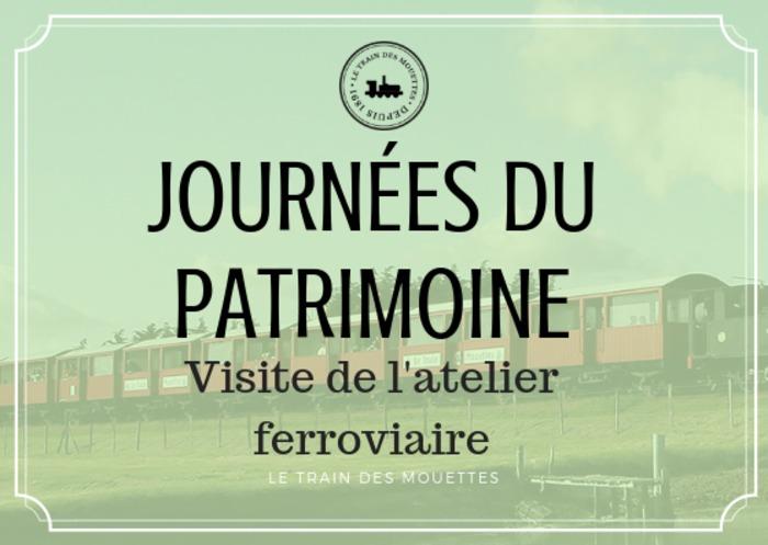 Journées du patrimoine 2019 - Voyage en Train des Mouettes !