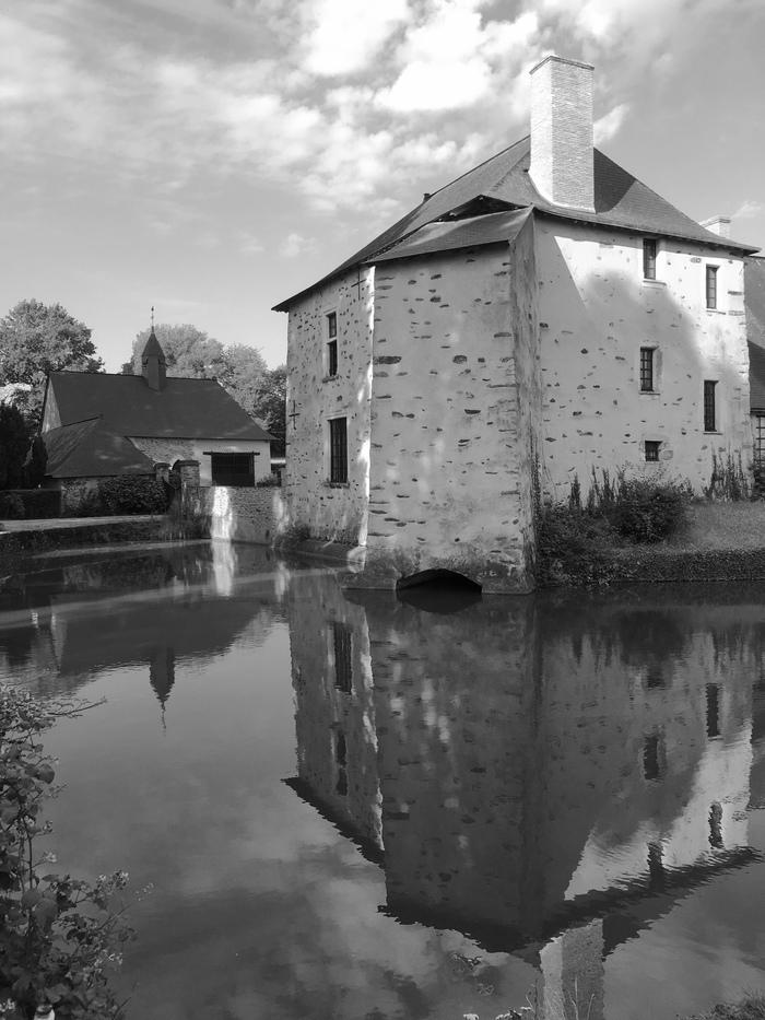 Journées du patrimoine 2019 - Manoir de Fontenelle : visite des extérieurs et de La Chapelle XVIIème.