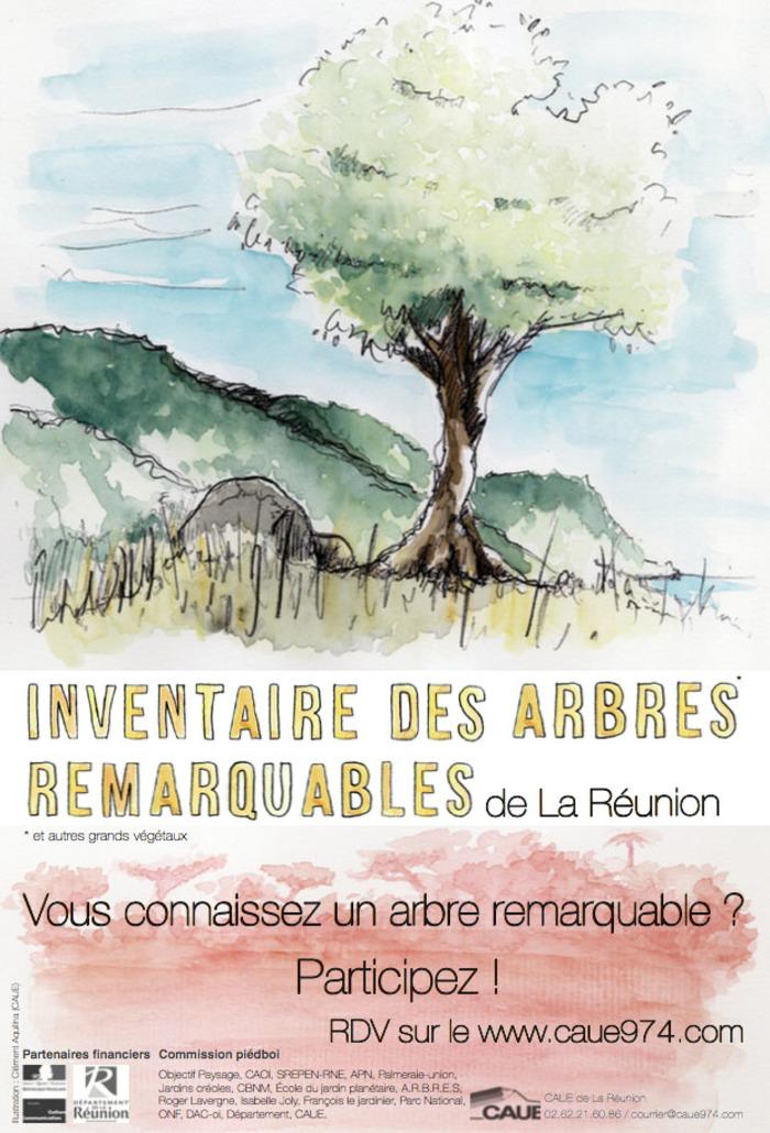 Journées du patrimoine 2019 - « L'inventaire des arbres remarquables de La Réunion »