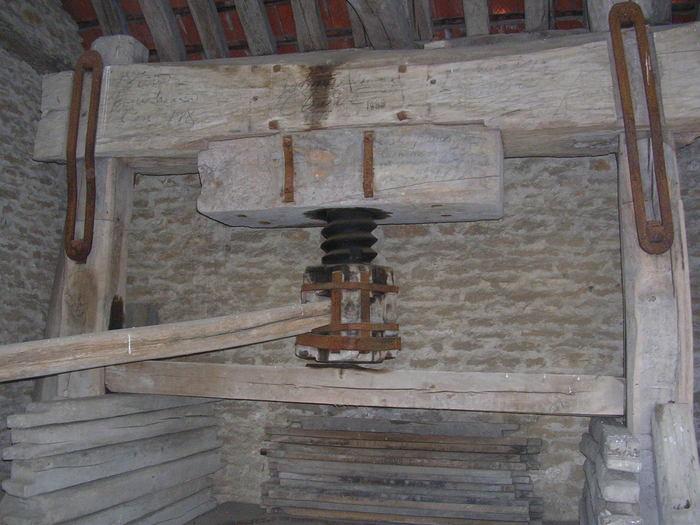 Journées du patrimoine 2019 - Visite et démonstration du pressoir de Cessey