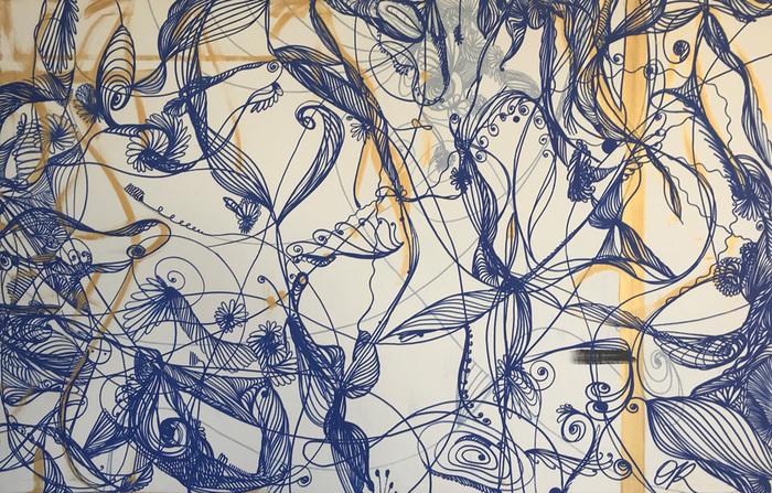 Artiste OR est médium, c'est en état de « conscience amplifiée », connectée à l'amour et à l'invisible qu'elle aime créer.