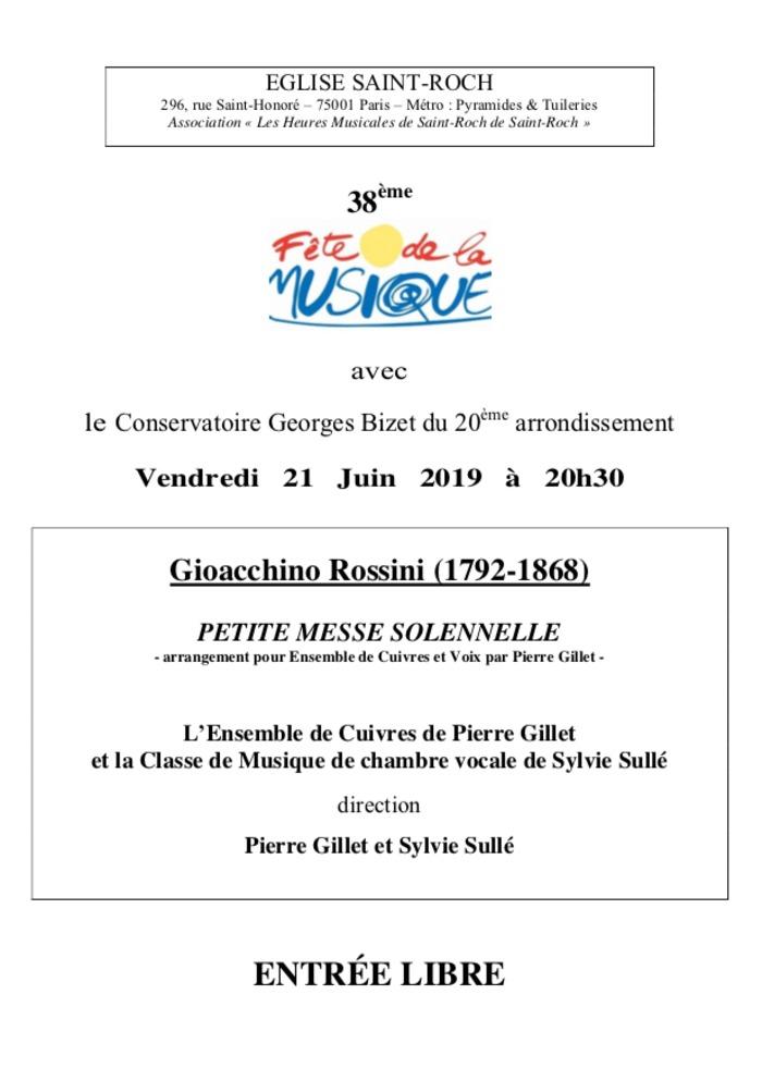 Fête de la musique 2019 - Ensemble de Cuives et classe de musique de chambre