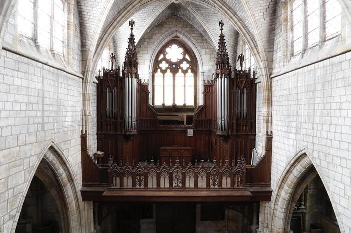Journées du patrimoine 2019 - Visite et démonstration du grand orgue de Saint-Loup