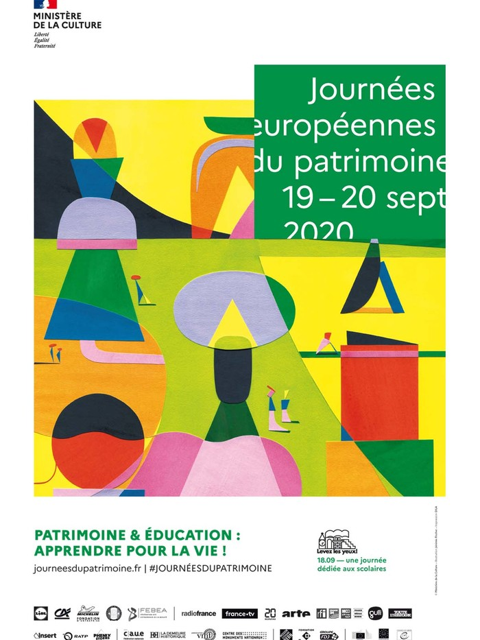 Journées du patrimoine 2020 - Découverte du patrimoine d'Egliseneuve d'Entraigues