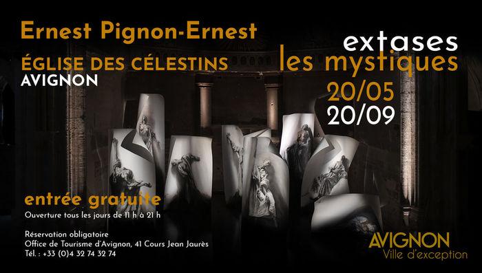 Journées du patrimoine 2020 - Exposition Extases Ernest PIGNON-ERNEST
