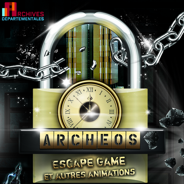 Journées du patrimoine 2020 - Escape game Archéos aux archives du Val-de-Marne (B)