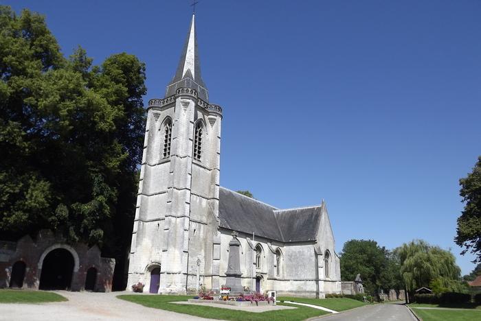 Journées du patrimoine 2020 - Visite guidée de l'église Saint-Sulpice de Huppy