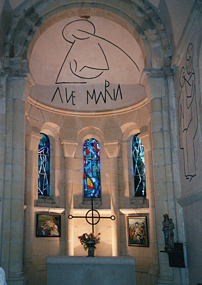 Journées du patrimoine 2019 - Chapelle Notre-Dame de la Tête-Ronde de Menou