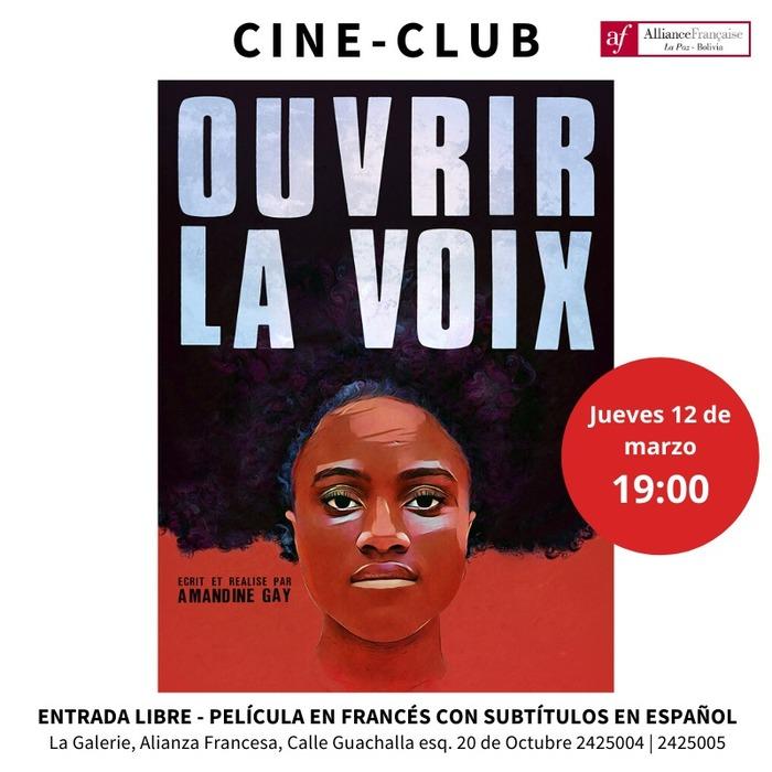 """Projection du film """"Ouvrir la voix"""" de Amandine Gay"""