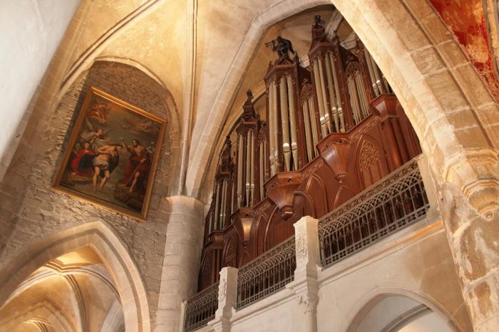 Journées du patrimoine 2020 - Concert d'orgue dans l'église Notre-Dame des Vertus.