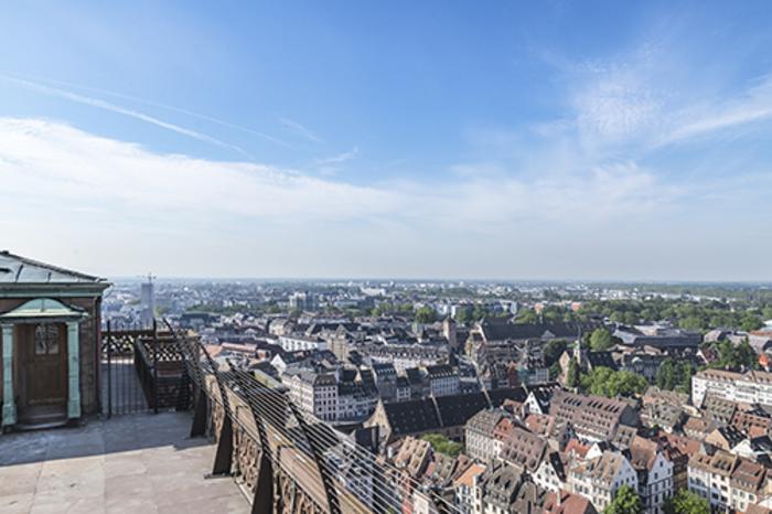 Journées du patrimoine 2019 - Ascension vers la plateforme de la cathédrale de Strasbourg et la maison des gardiens