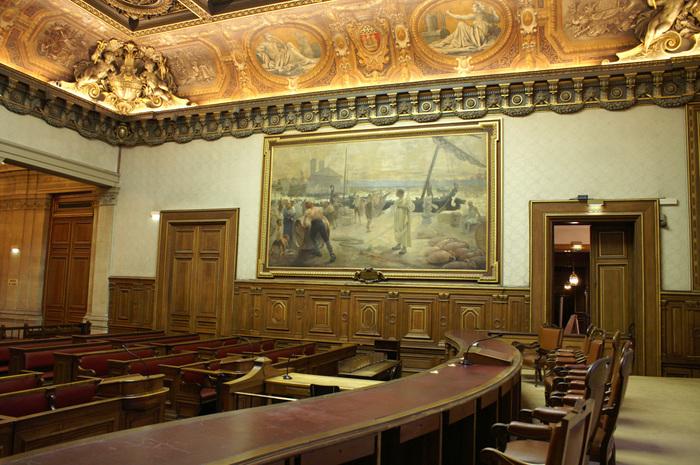 Journées du patrimoine 2020 - Visite commentée du tribunal de commerce de Paris par des juges conférenciers