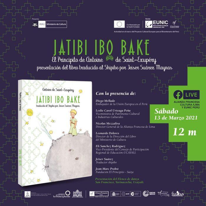 Lancement du livre Le Petit Prince en Shipibo