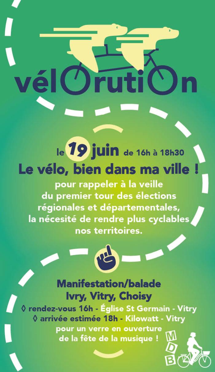 Vélorution - Vitry-sur-Seine (94)