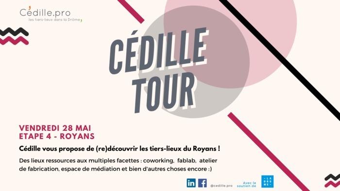 CÉDILLE TOUR - Étape 4 LE ROYANS